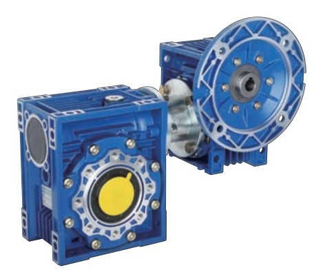 rv系列蜗轮蜗杆减速机是一种特殊的交错轴斜齿轮传动