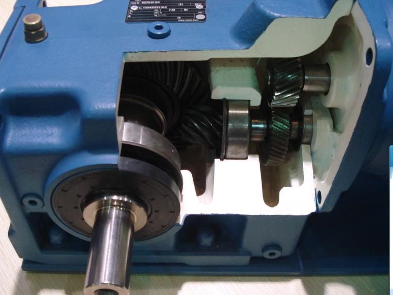 四大系列k,r,s,f减速机内部齿轮结构图-机座|无级变速